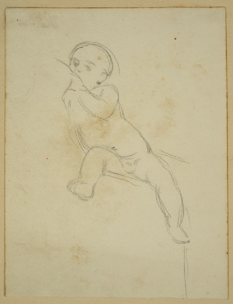 Study of a Baby suckling