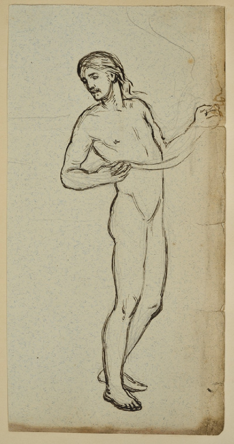 Study for the Figure of Christ in 'Christ and the Two Marys' (WA2007.8.40)