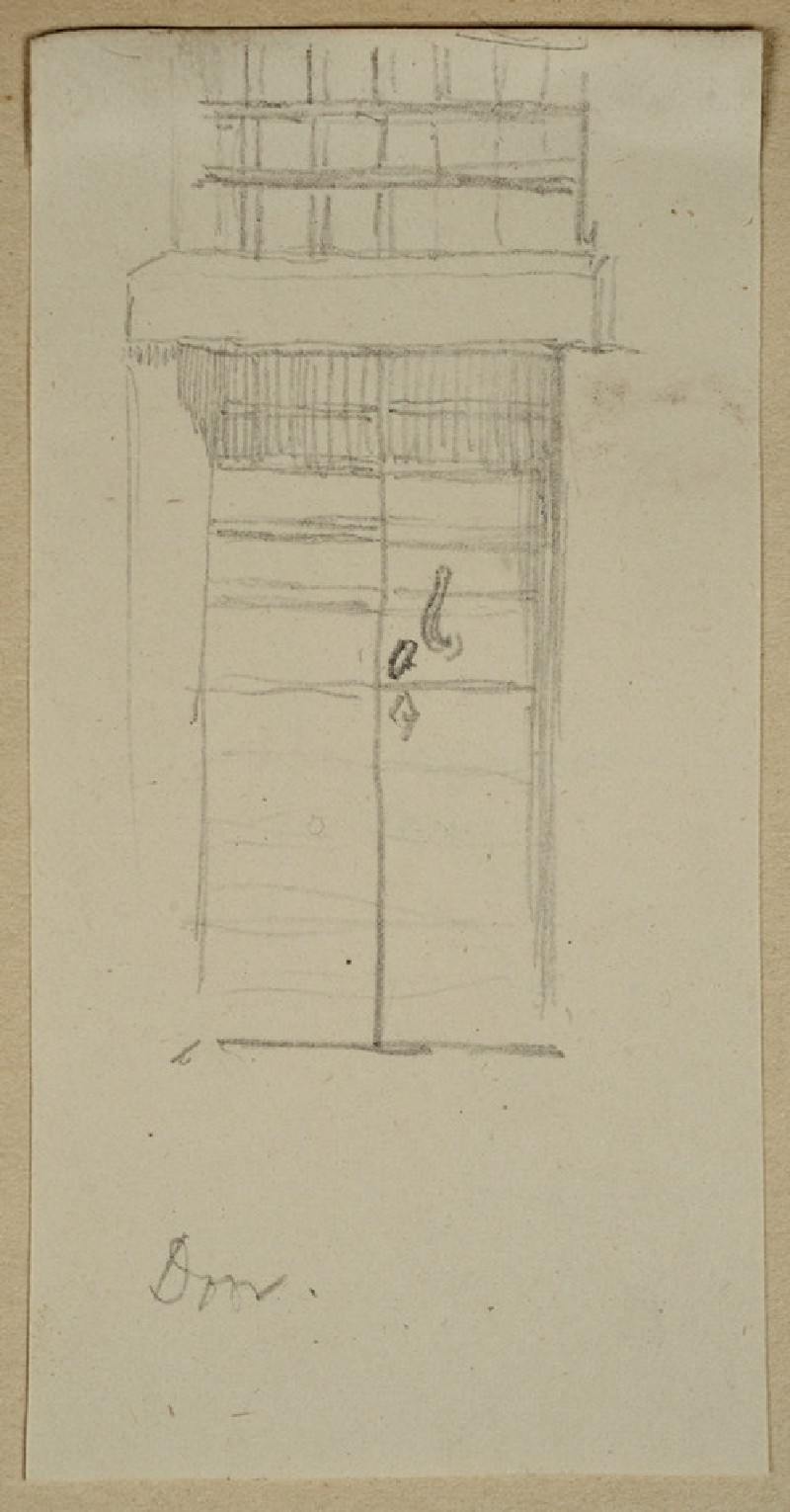 Study of a Door and Grille