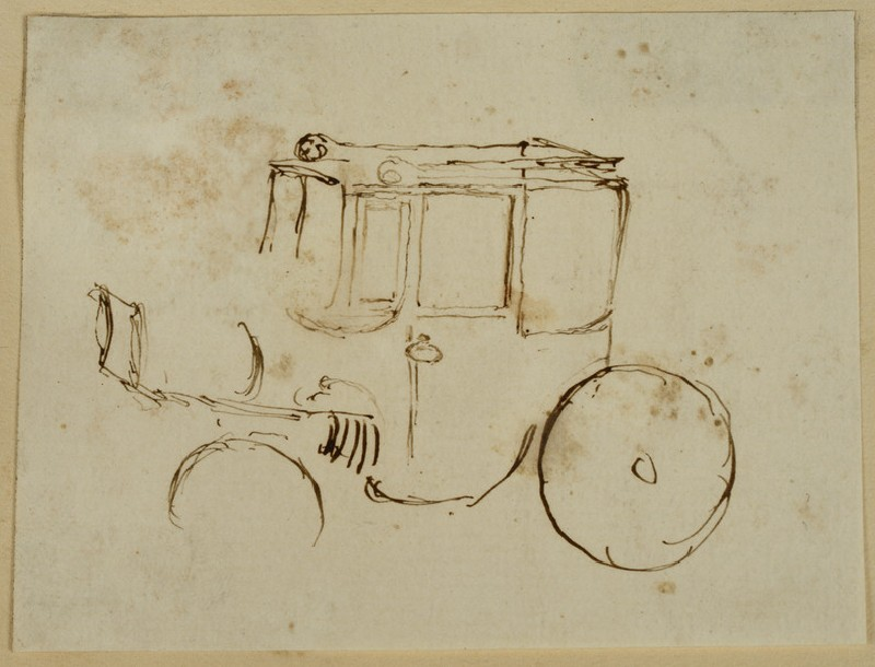 Slight Study of a Carriage