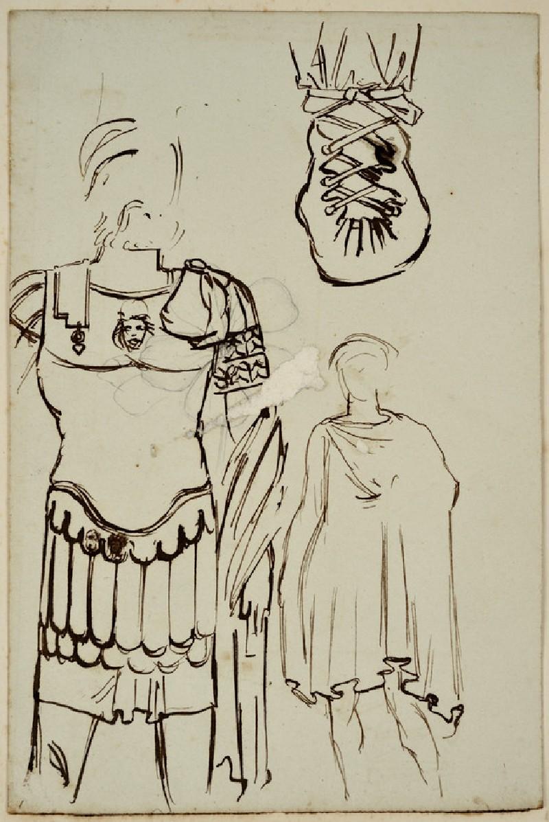 Studies of two Roman Figures