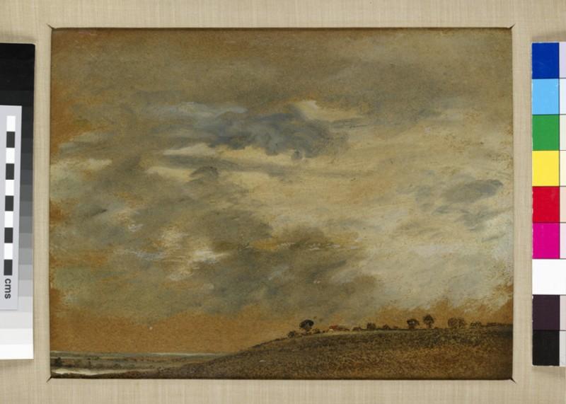 Landscape with Scudding Clouds (WA2009.147)