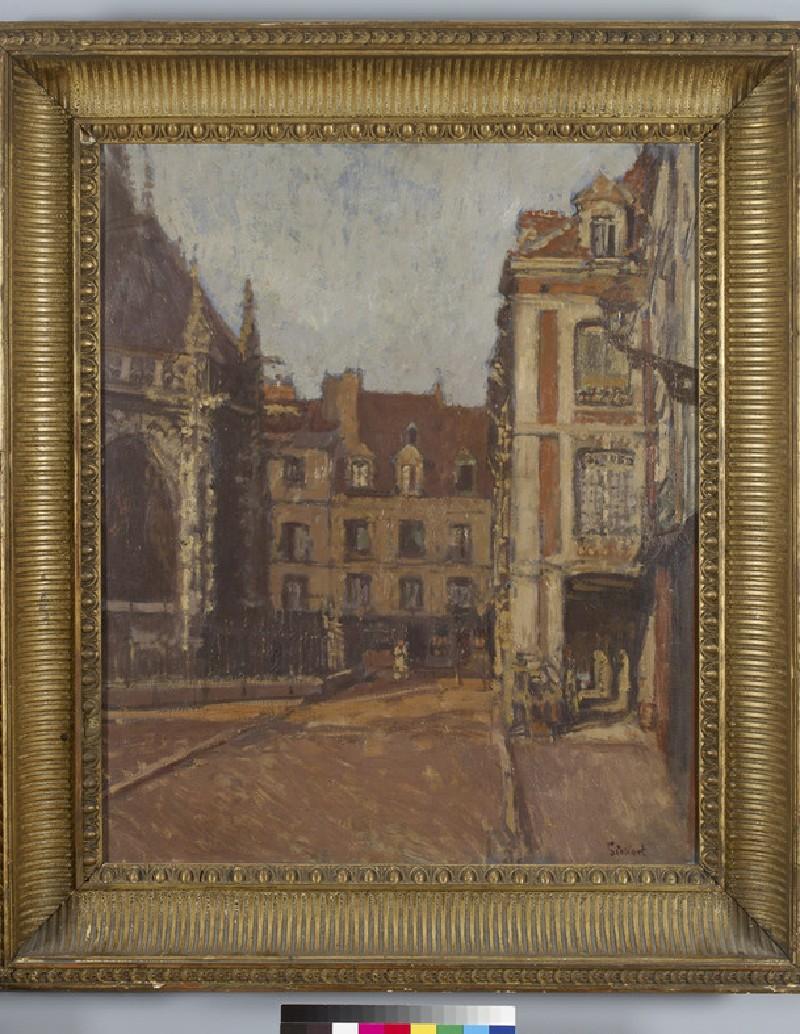 La Rue Ste Catherine et les Vieux Arcades, Dieppe (WA2011.172)