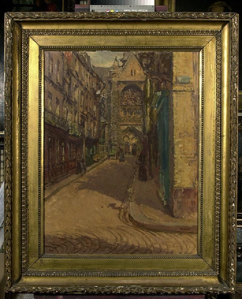 The Rue Pecquet, Dieppe (WA2011.177)