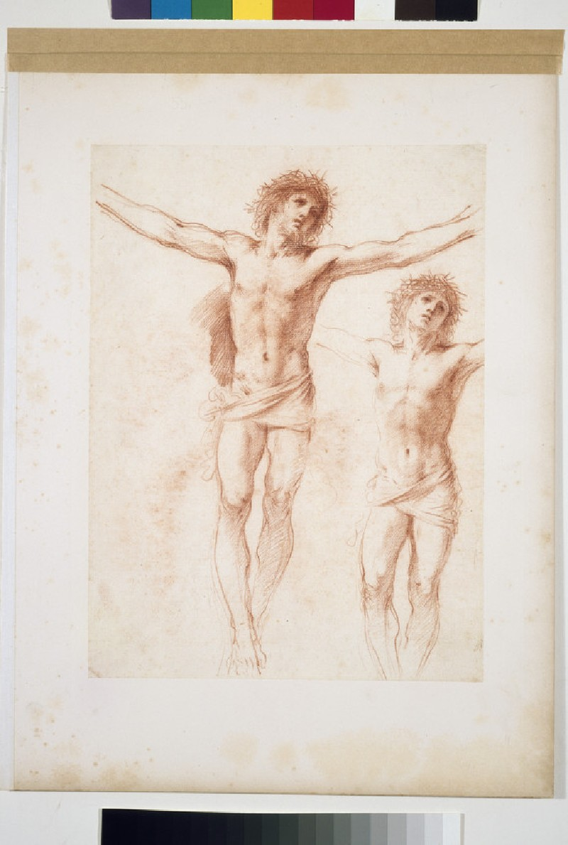 Two studies of the crucified Christ