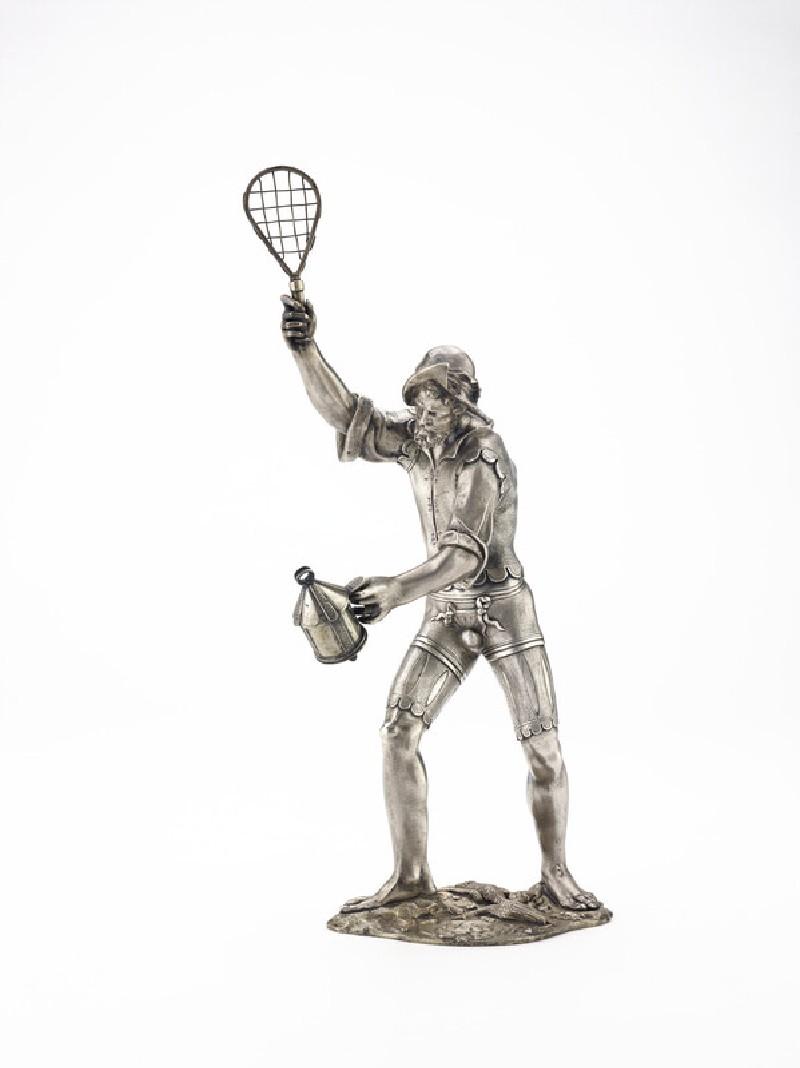 Figure of a bird catcher (WA2013.1.160)
