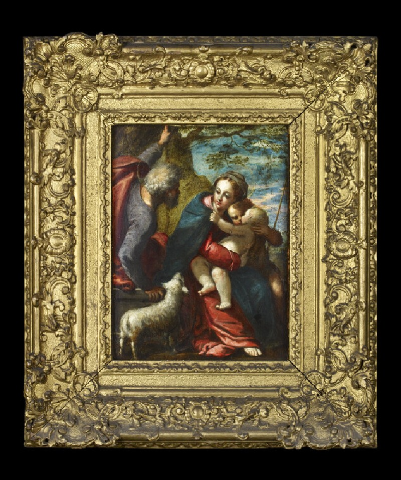 The Holy Family with the young Saint John the Baptist (WA2013.11)