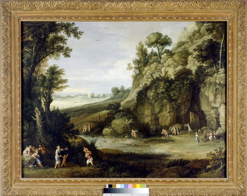 Mythological Landscape with Nymphs and Satyrs (WA2013.13)