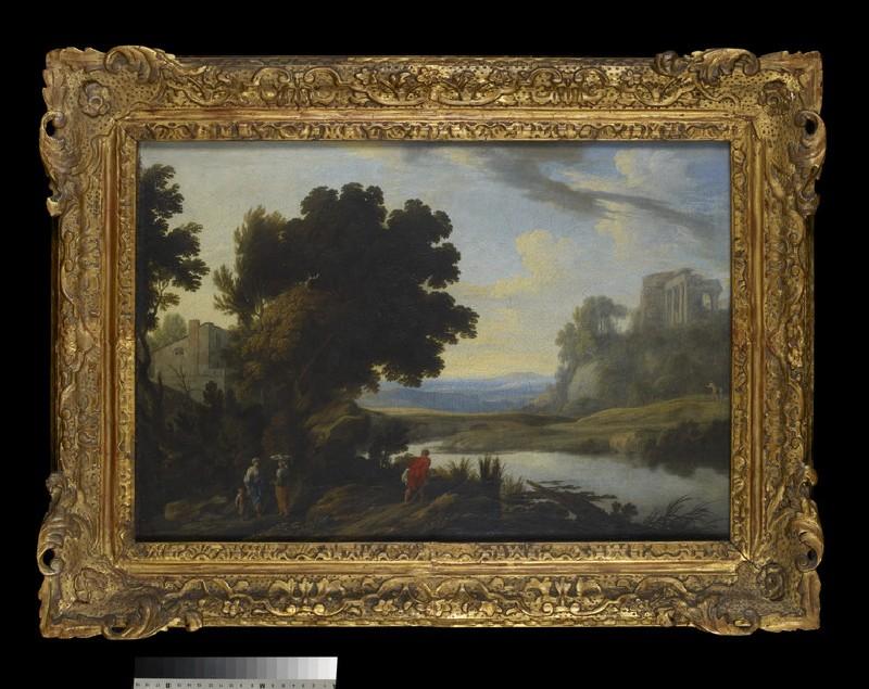 Landscape in the Roman Campagna (WA2013.17)
