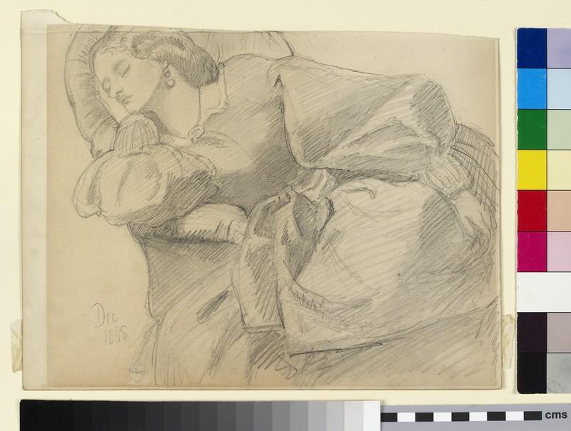 Ruth Herbert asleep (WA2014.39)