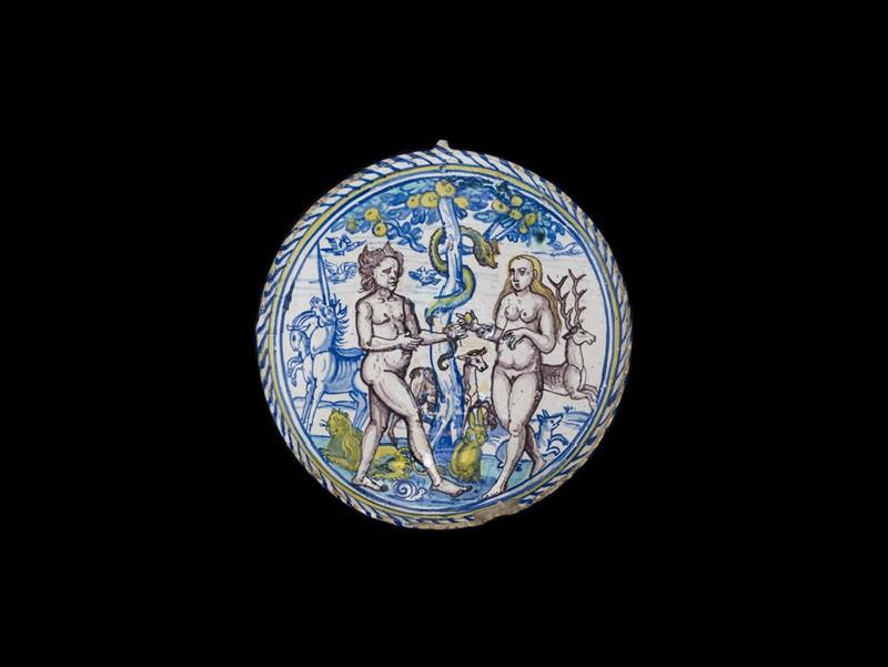 Bowl, Adam and Eve