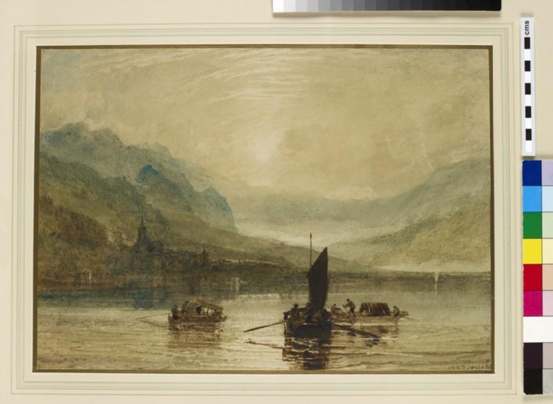 Lake of Brienz, Moonlight