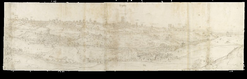 Panoramic View of Segovia from the East (WA.Suth.L.4.100.1)