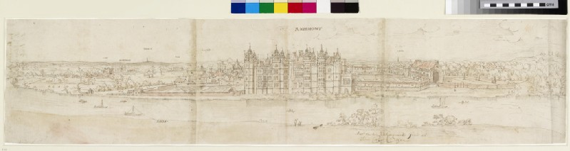 Richmond Palace from across the Thames (WA.Suth.L.4.12.2)