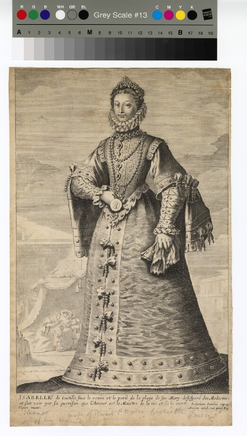 Portrait of Isabella of Castille (WAHP12754)