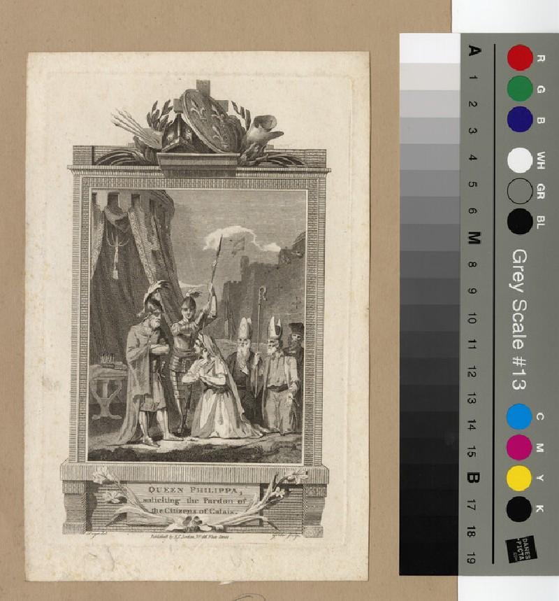 Portrait of Queen Philippa (WAHP12755)