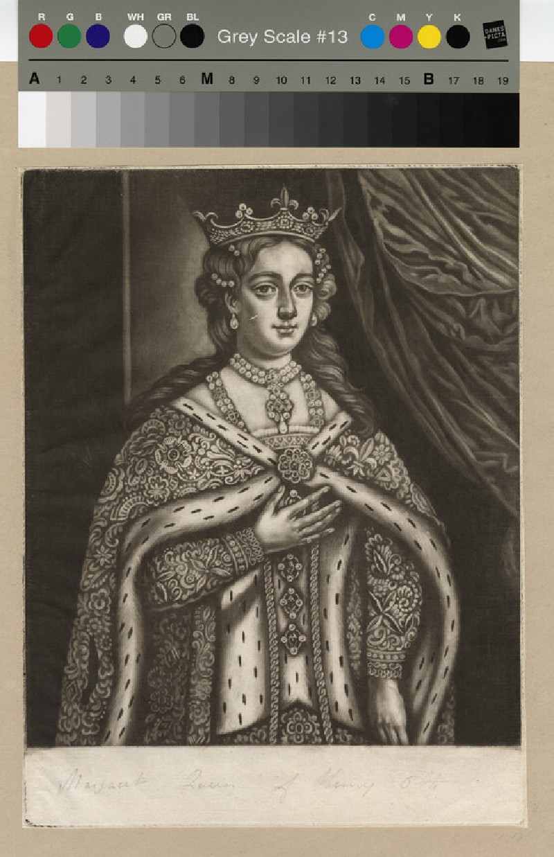 Portrait of Margaret of Anjou (WAHP12762)