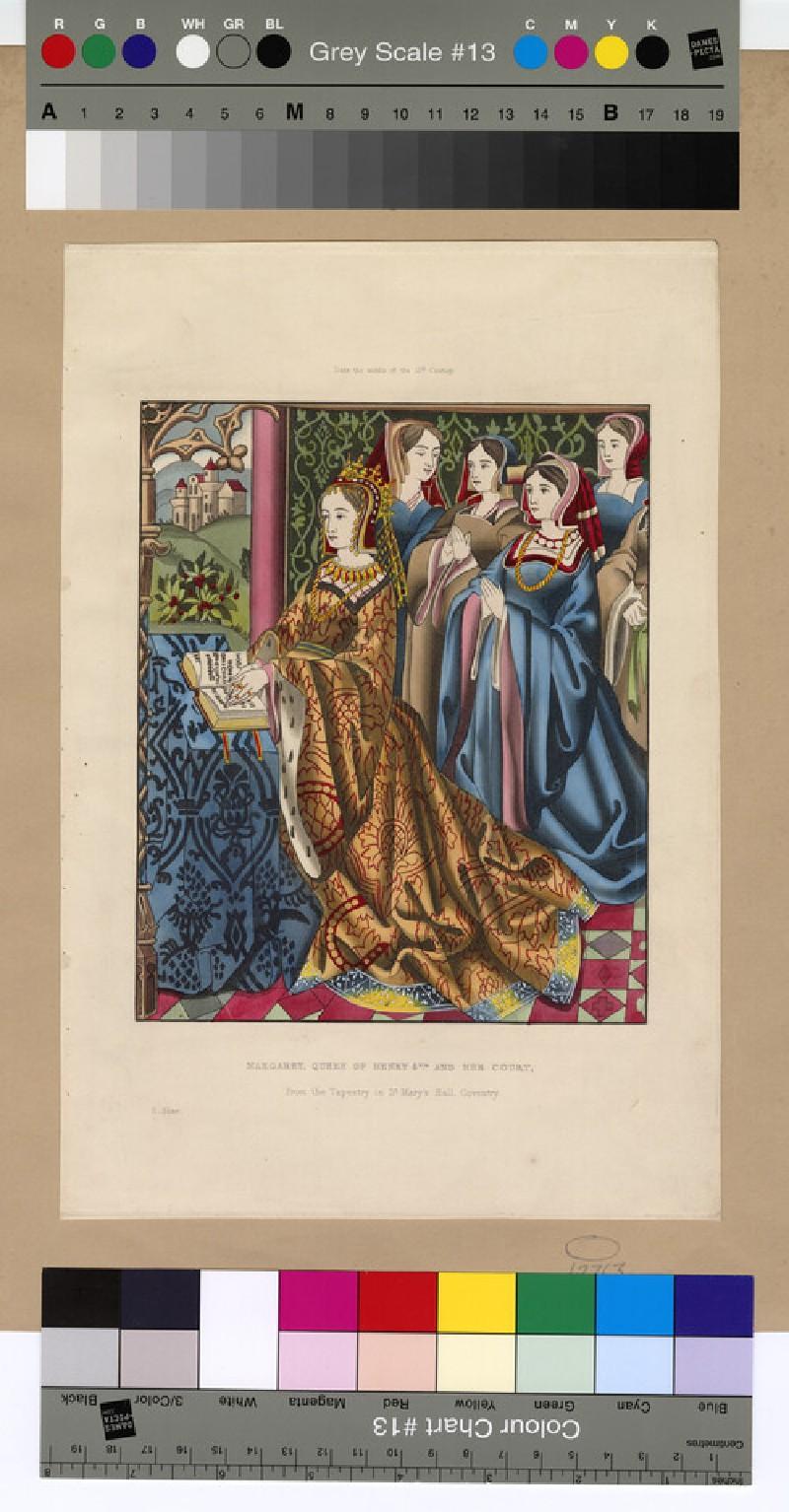 Portrait of Margaret of Anjou
