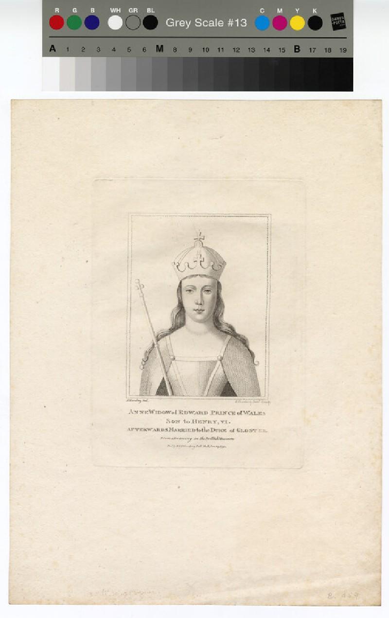 Portrait of Anne of B