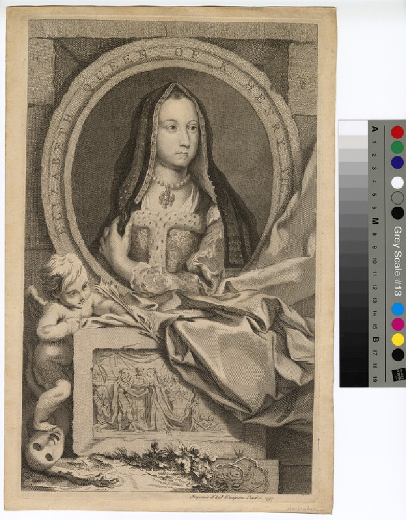 Portrait of Elizabeth of York