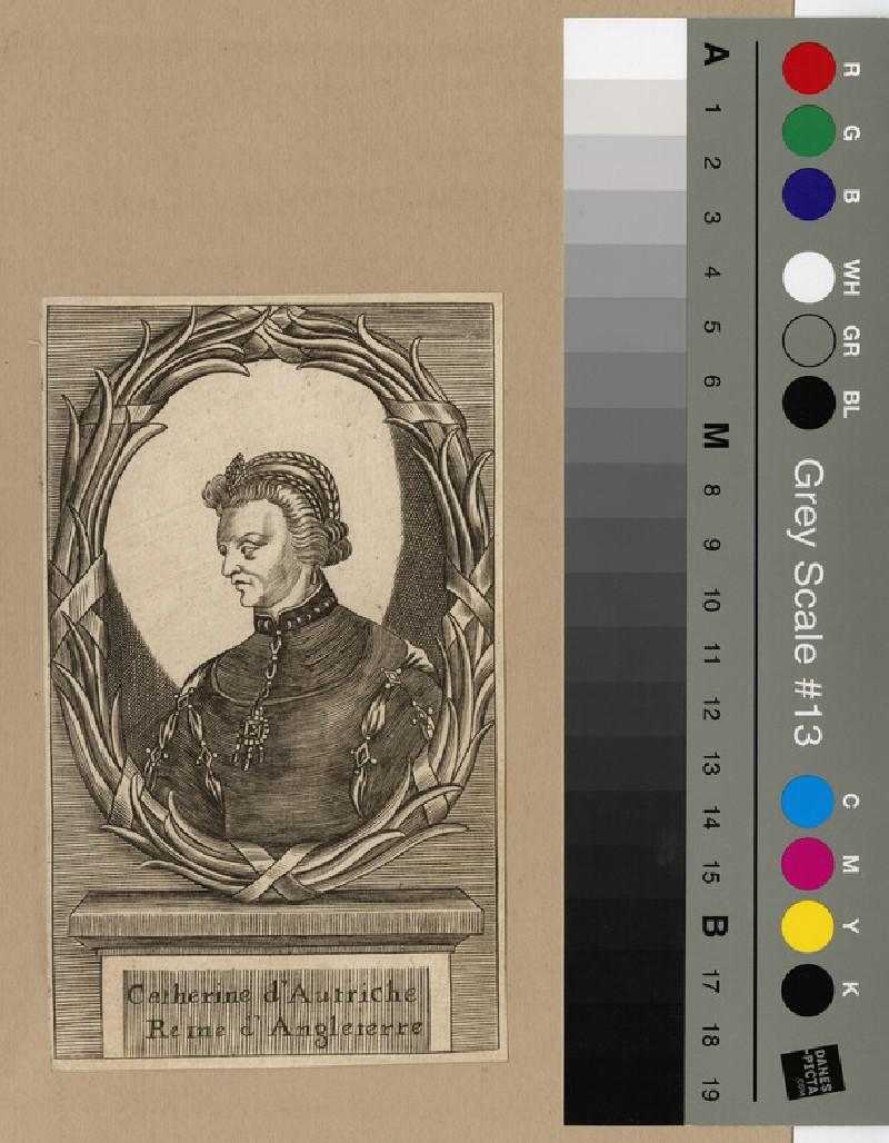 Portrait of Catherine of Austria