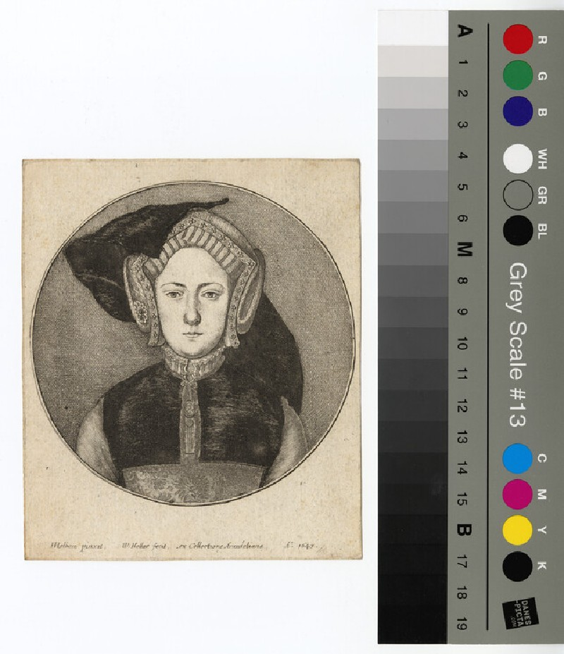 Portrait of Catharine of Aragon (WAHP12801)