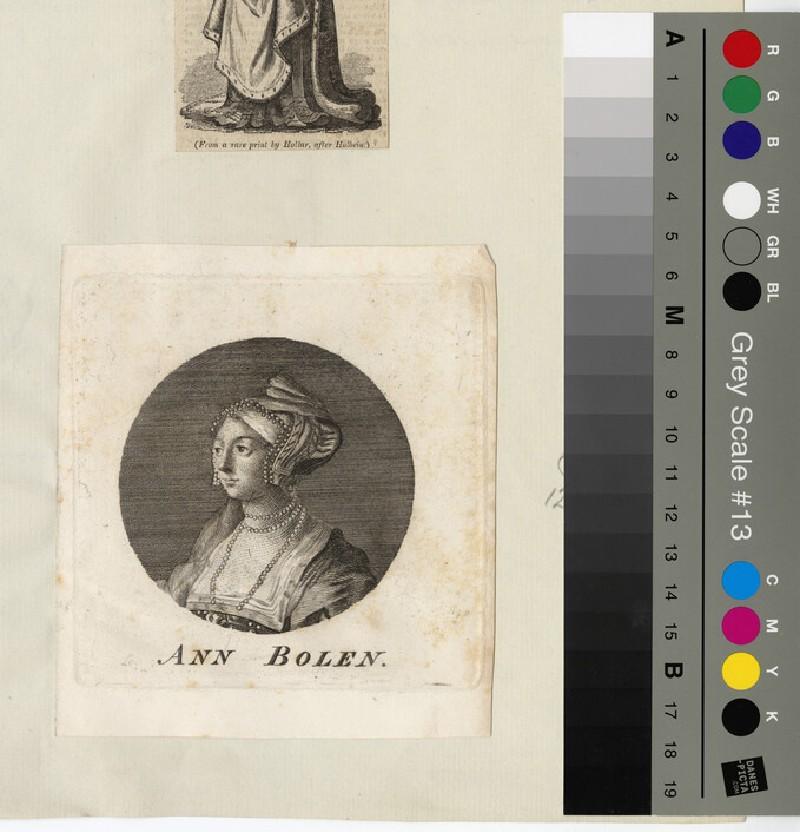 Portrait of Anne Boleyn (WAHP12811)