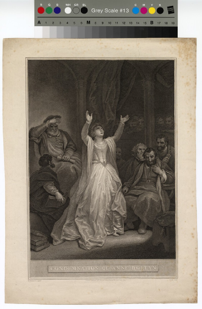 Portrait of Anne Boleyn (WAHP12837)