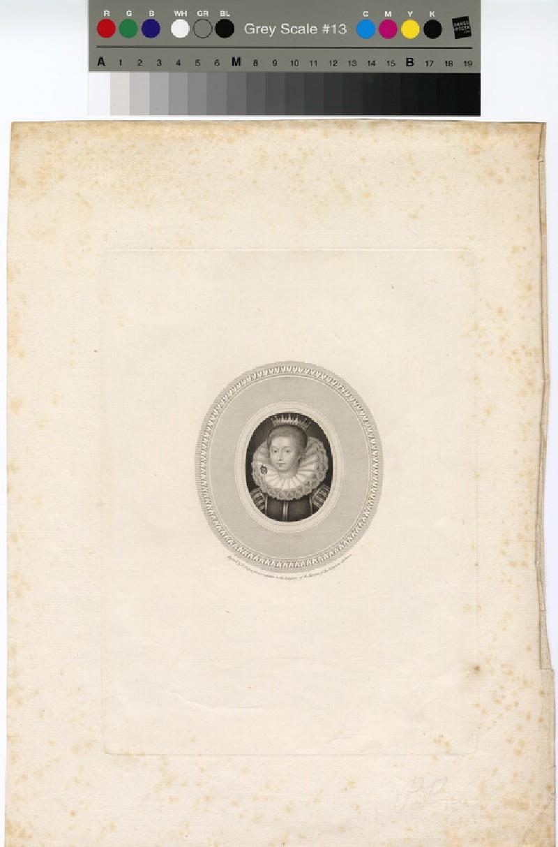 Portrait of Jane Seymour (WAHP12843)