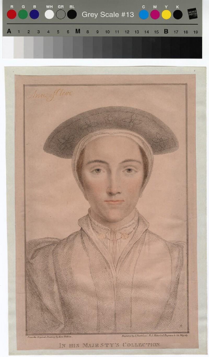 Portrait of Anne of Cleves (WAHP12860)