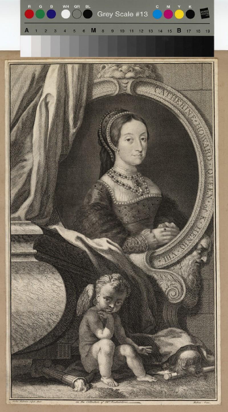 Portrait of Catharine Howard