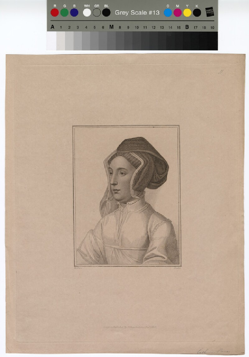 Portrait of Catharine Parr (WAHP12885)
