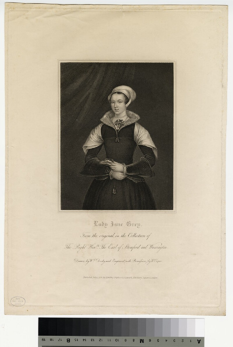 Portrait of Jane Grey