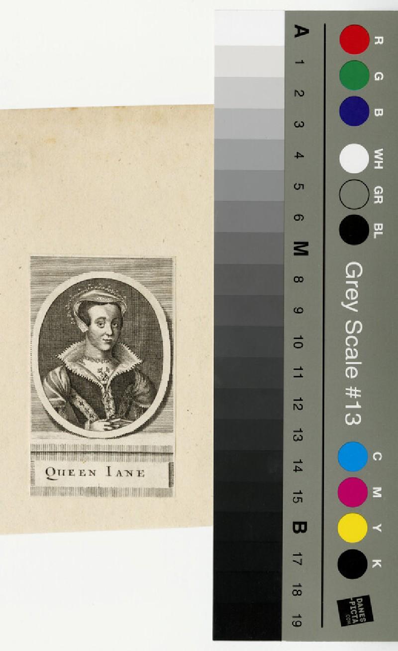 Portrait of Queen Jane, Lady Jane Grey
