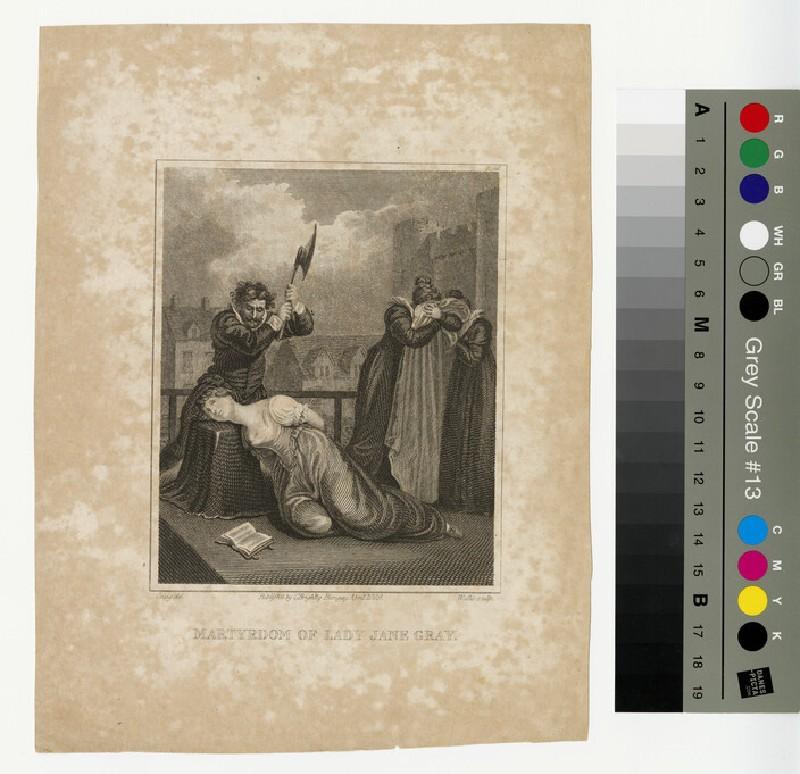 Portrait of Jane Grey (WAHP12922)