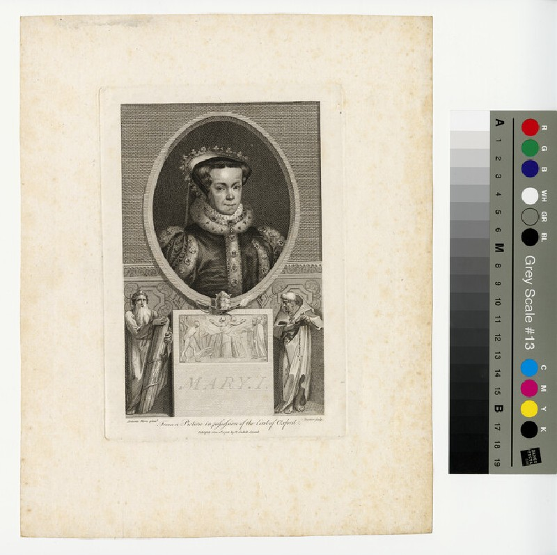 Portrait of Mary I (WAHP12945)