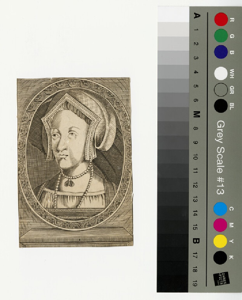 Portrait of Mary I (WAHP12960)