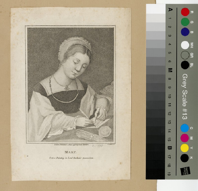 Portrait of Mary I (WAHP12961)