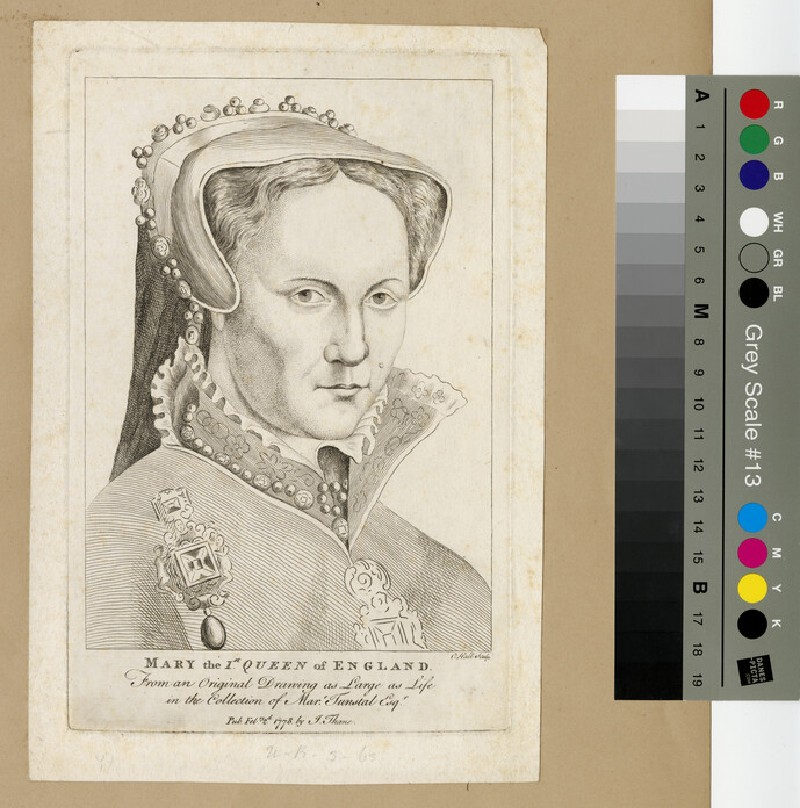 Portrait of Mary I (WAHP12963)