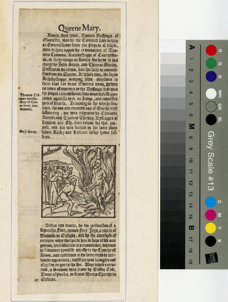 Portrait of Cranmer