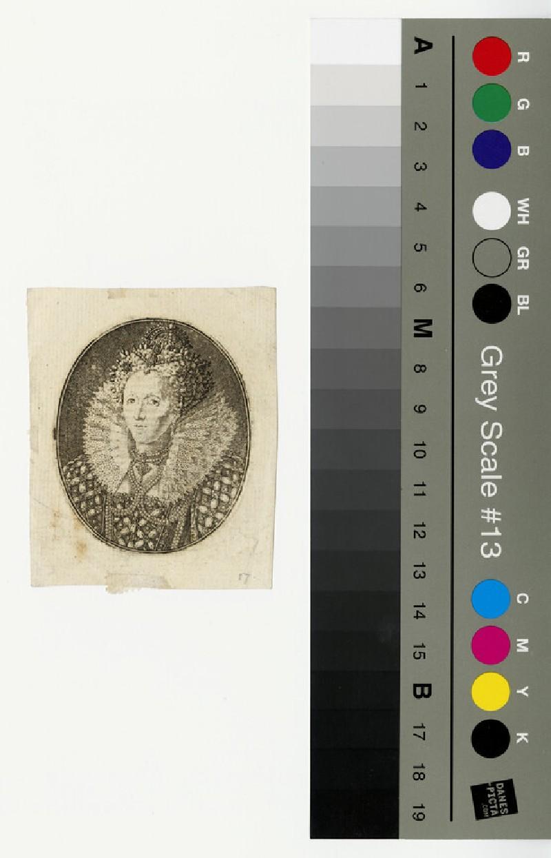 Portrait of Elizabeth I (WAHP12997)
