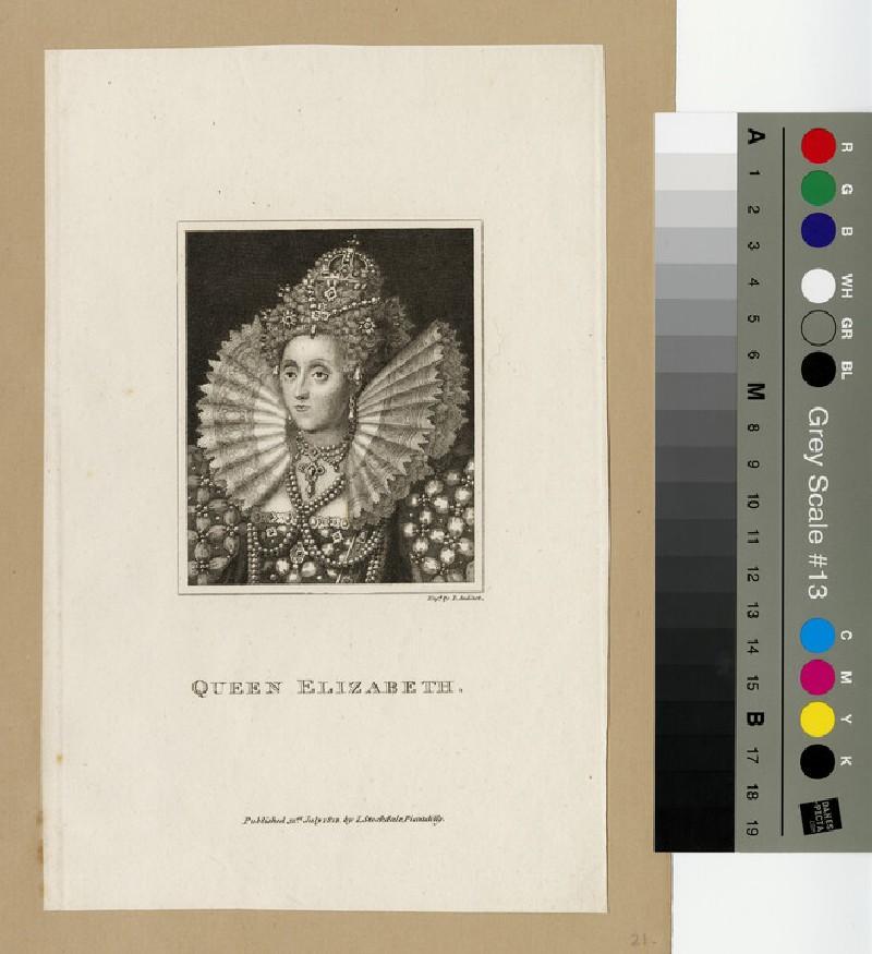 Portrait of Elizabeth I (WAHP13002)