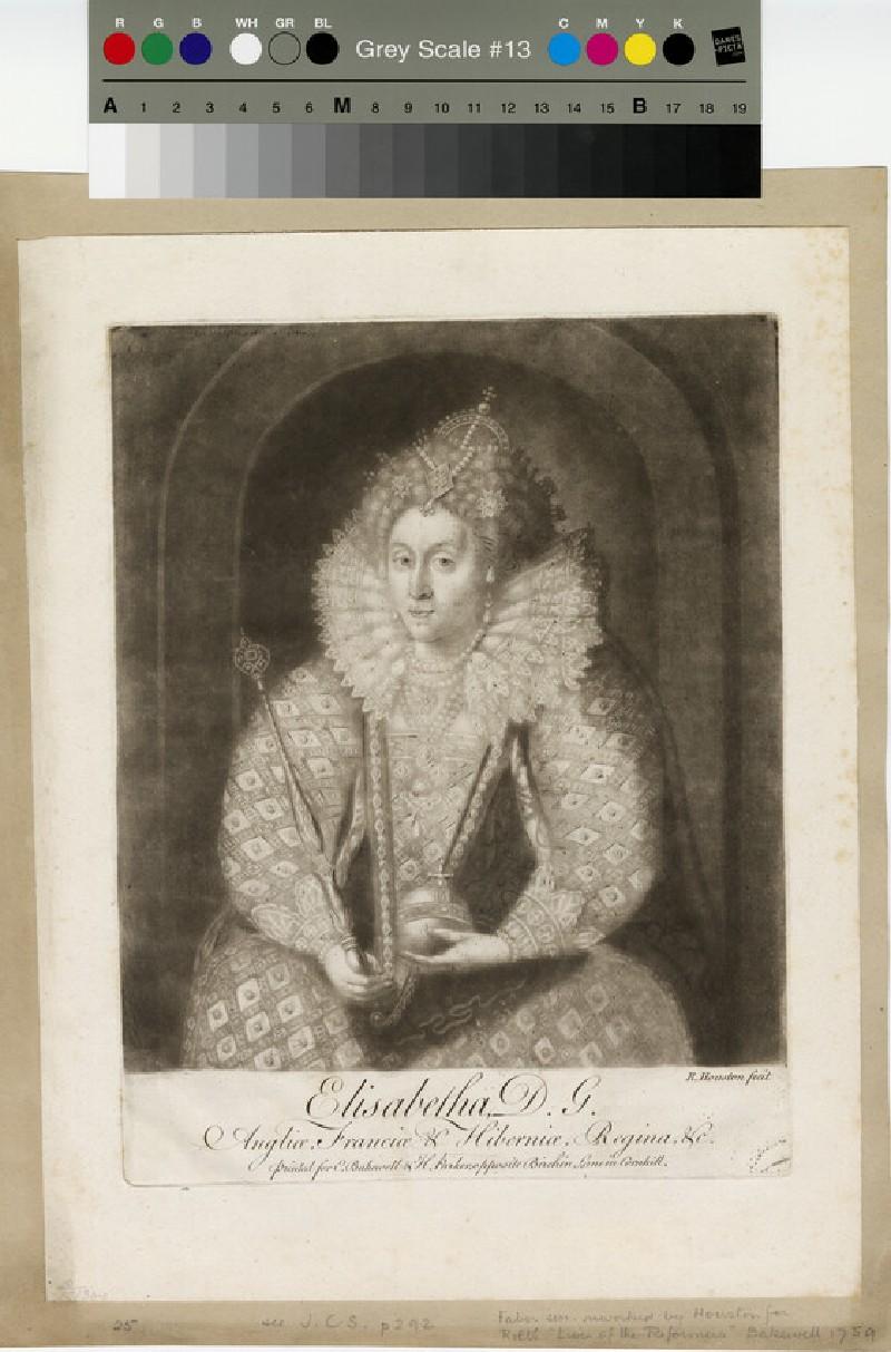 Portrait of Elizabeth I (WAHP13011)