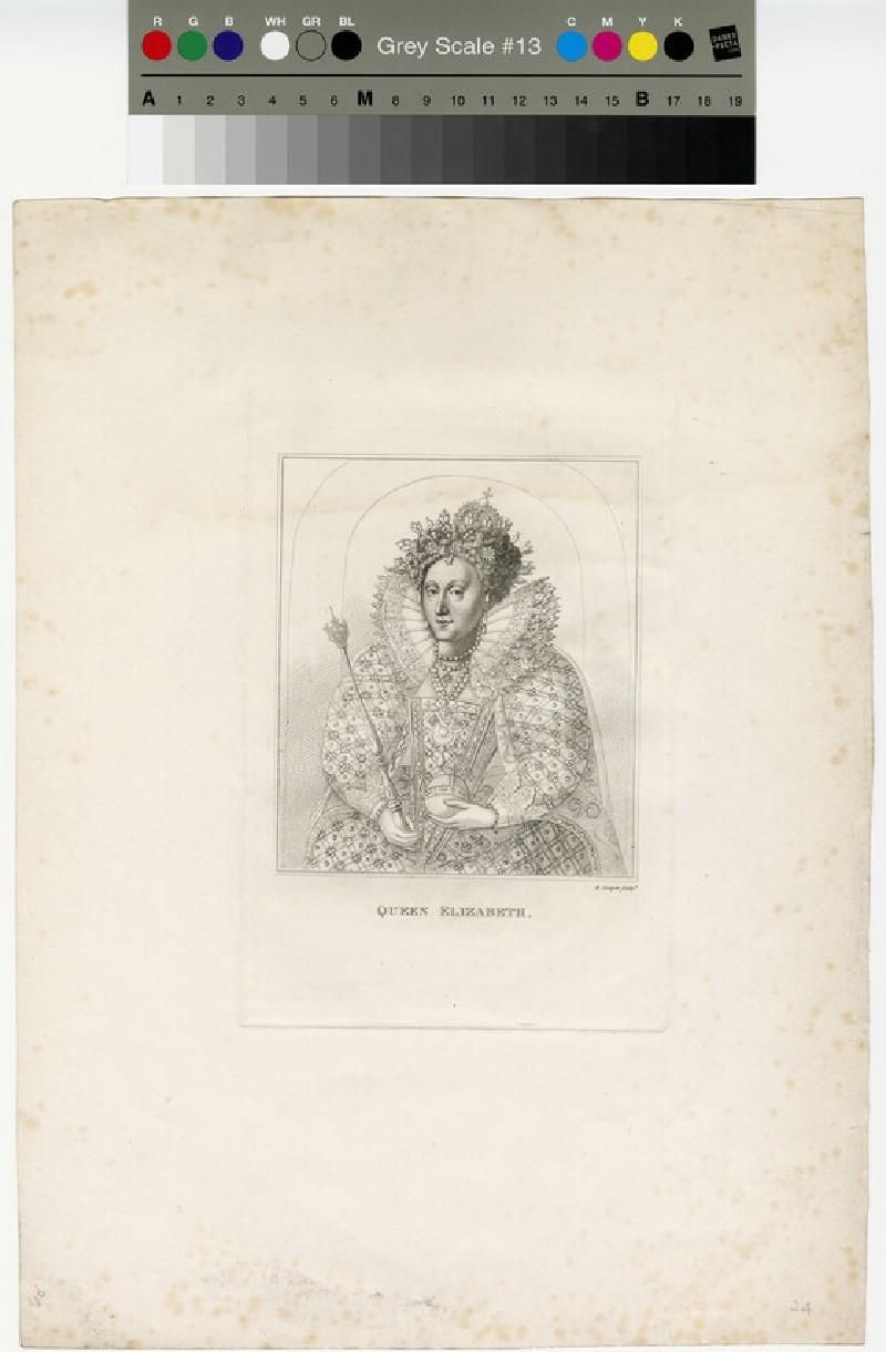 Portrait of Elizabeth I (WAHP13013)