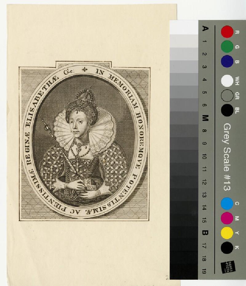 Portrait of Elizabeth I (WAHP13014)