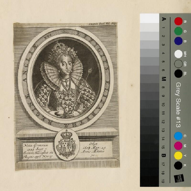 Portrait of Elizabeth I (WAHP13015)