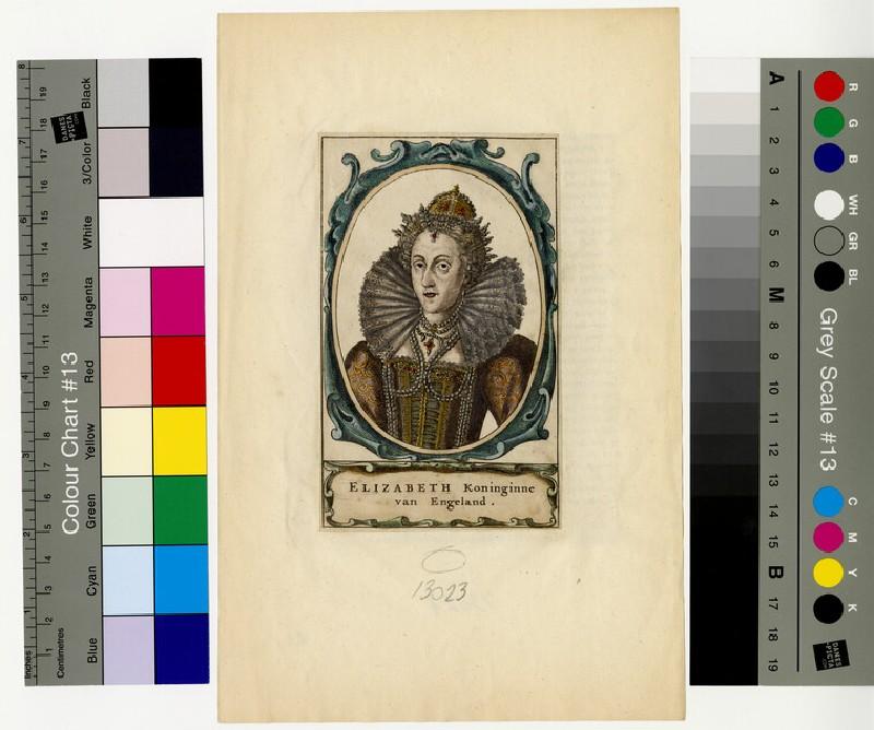 Portrait of Elizabeth I (WAHP13023)