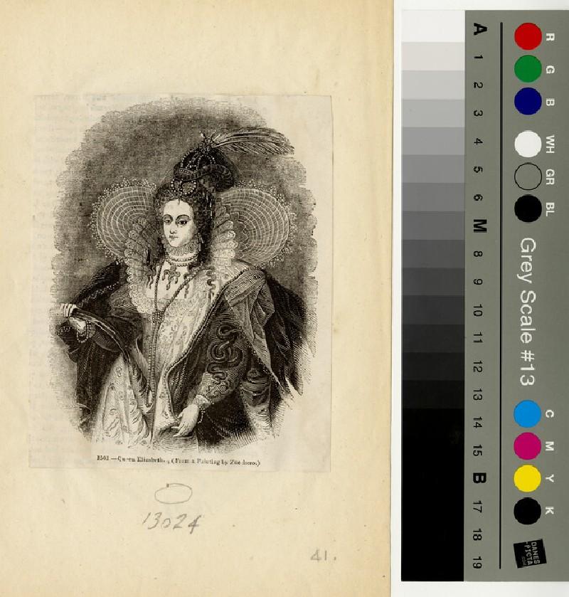 Portrait of Elizabeth I (WAHP13024)