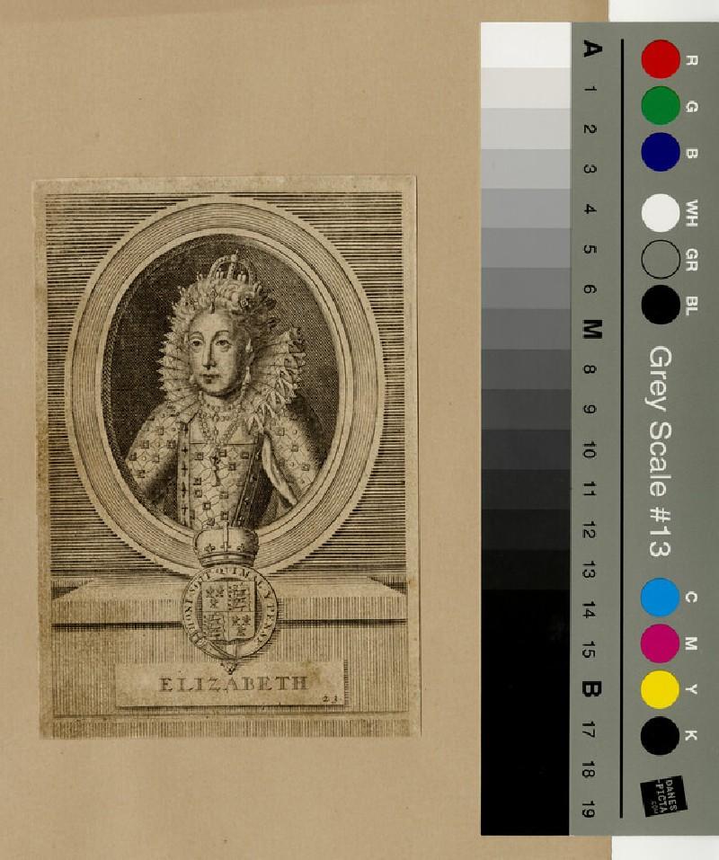 Portrait of Elizabeth I (WAHP13028)