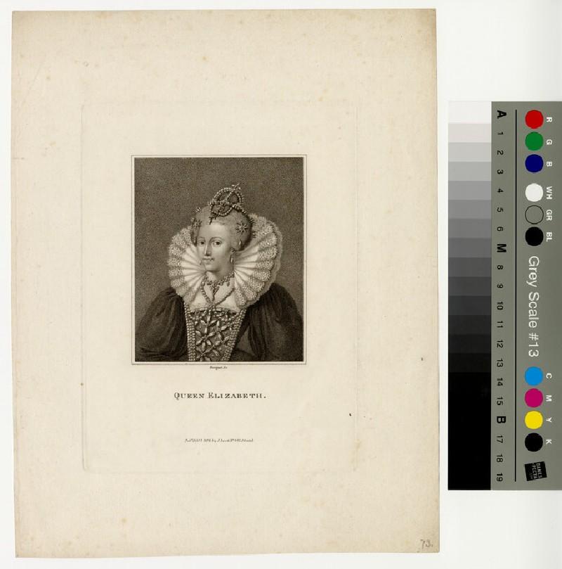 Portrait of Elizabeth I (WAHP13035)